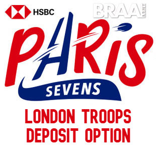 Braai Army Paris 7s London Deposit #1