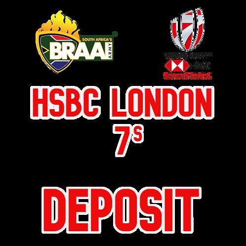 London 7s 50% Deposit Option