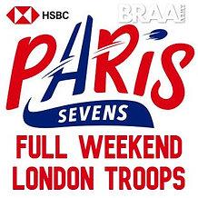 Braai Army Paris 7s London Troops