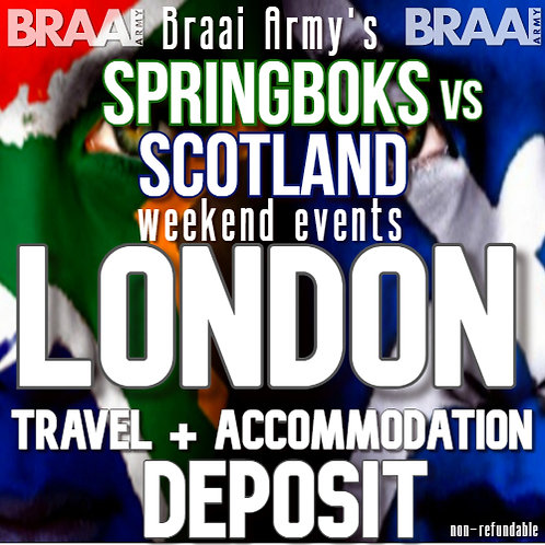 London Troops Travel & Accommodation Deposit