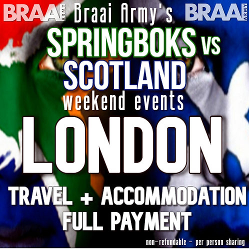 London Troops Travel & Accommodation