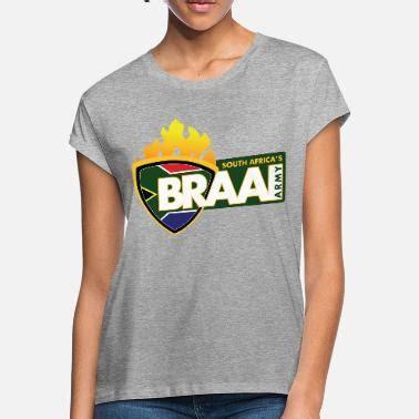 Braai Army T-Shirt Grey Full