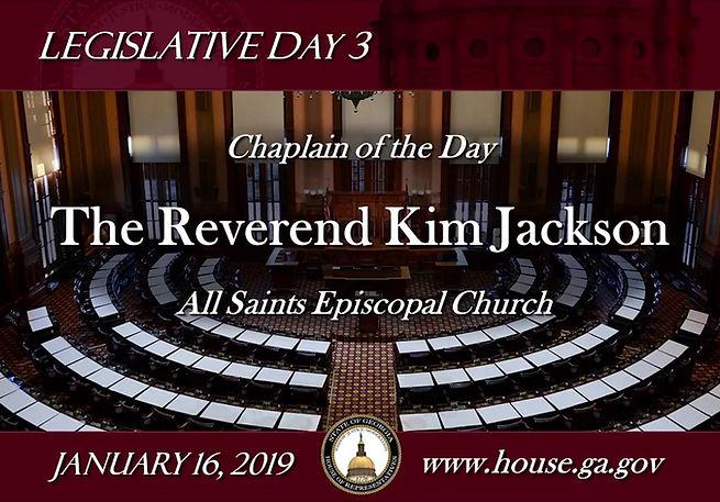 Listen as Kim addresses the House of Representatives