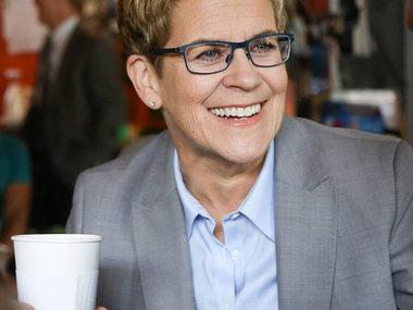 Former Atlanta City Councilwoman Cathy Woolard