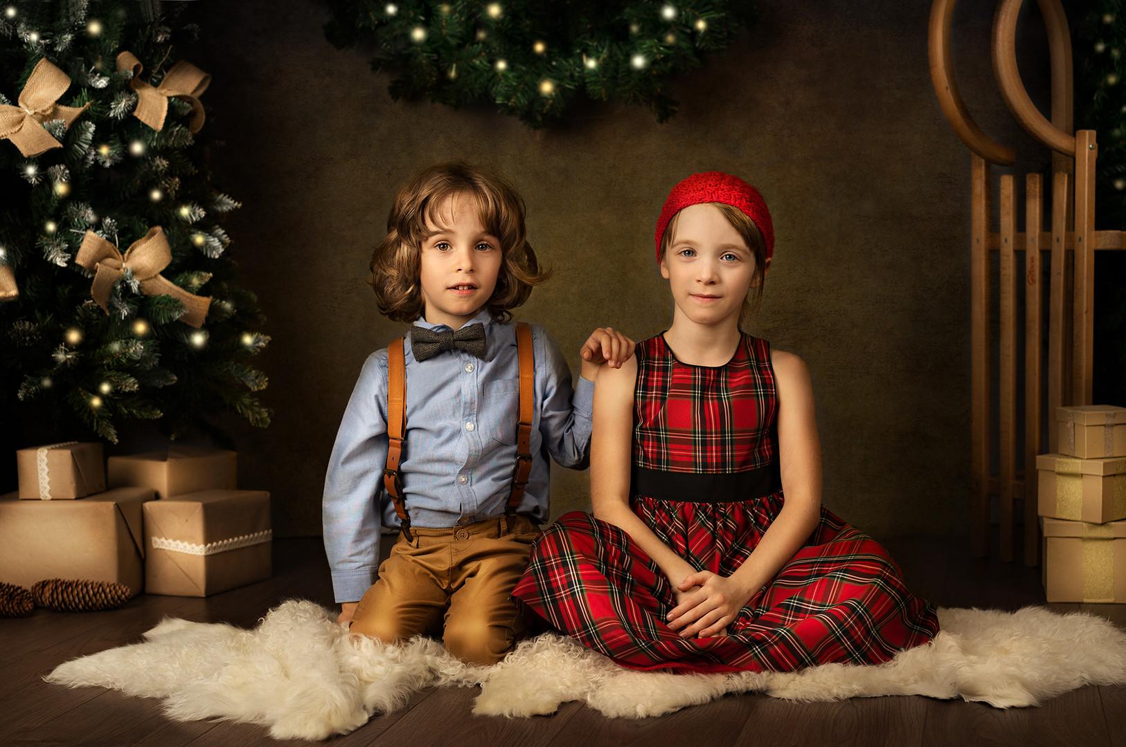 Božićno fotografiranje djece