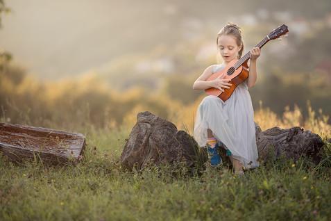Fotograf za djecu u prirodi