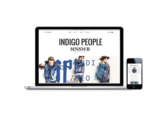 MNSWR Magazine : Indigo People