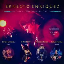 Ernesto Enriquez @Montreux Jazz Cafe