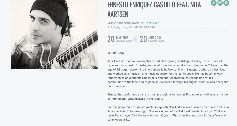 Ernesto Enriquez C