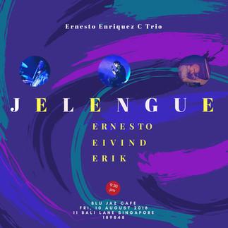 Ernesto Enriquez C Trio @ Blu Jaz Aug 2018