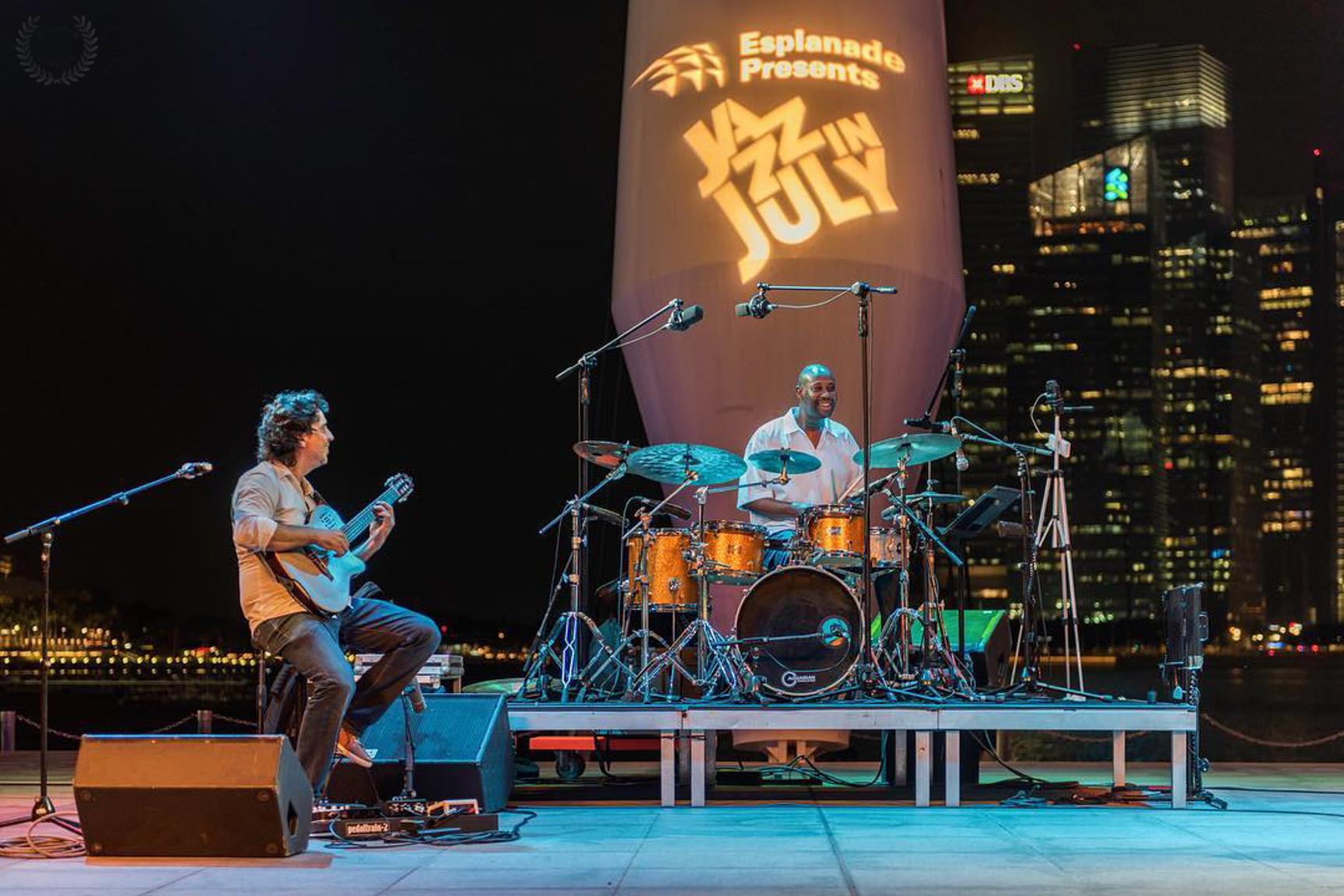 Jazz July Esplanade Singapore 2019