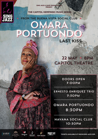 Opening Performance For Cuban Diva Omara Portuondo!