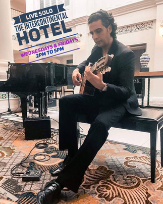 Solo At The Intercontinental Hotel