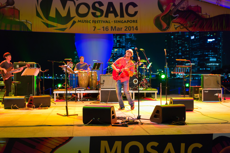 Ernesto Enriquez C @Mosaic Fest