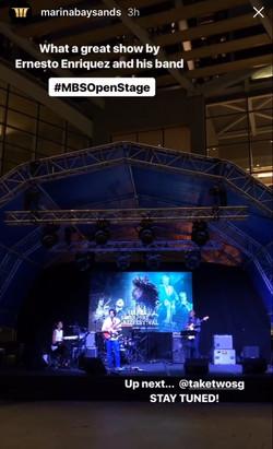 Ernesto Enriquez C @ MBS Singapore