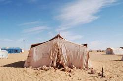 Bivouac au désert.