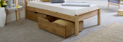 Waxed Underbed Drawers Size 3