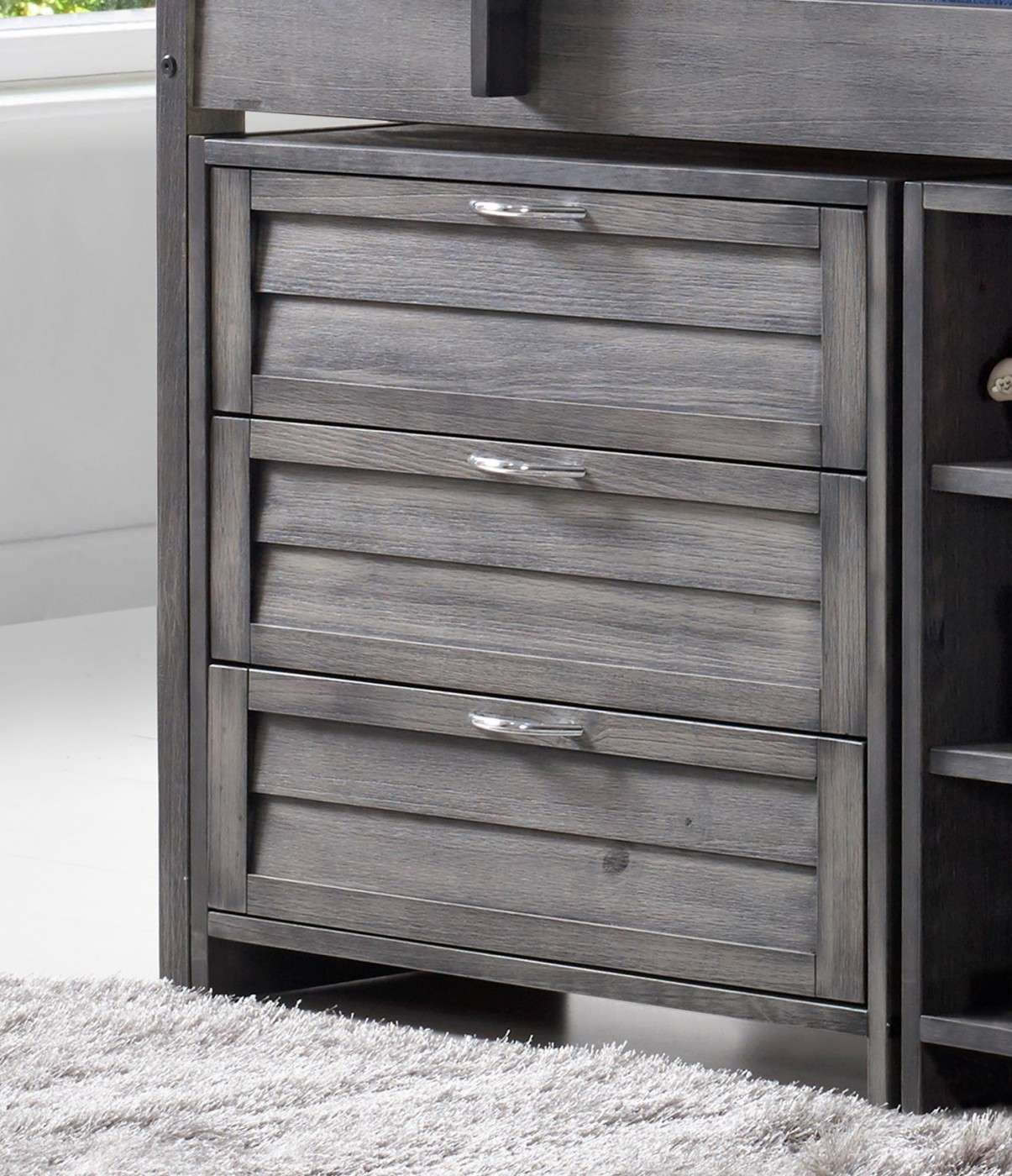 Cozy High Sleeper 3 Drawer Chest