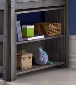 Cozy High Sleeper Shelves