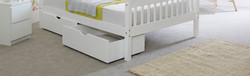 Underbed Drawers White