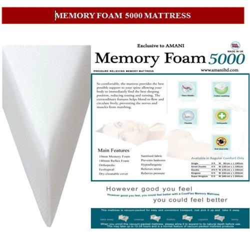 Memory Foam 5000 Mattress 1