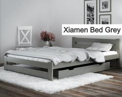 Xiamen Bed Grey