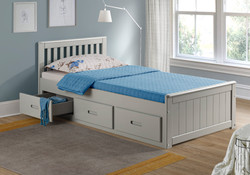 3'0 Mission Bed (Grey)
