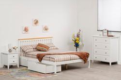 Atlantis Bed (White)