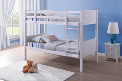 Bedford Bunk Bed White (2)