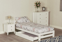 Example Xiamen White Bed With Drawer 1