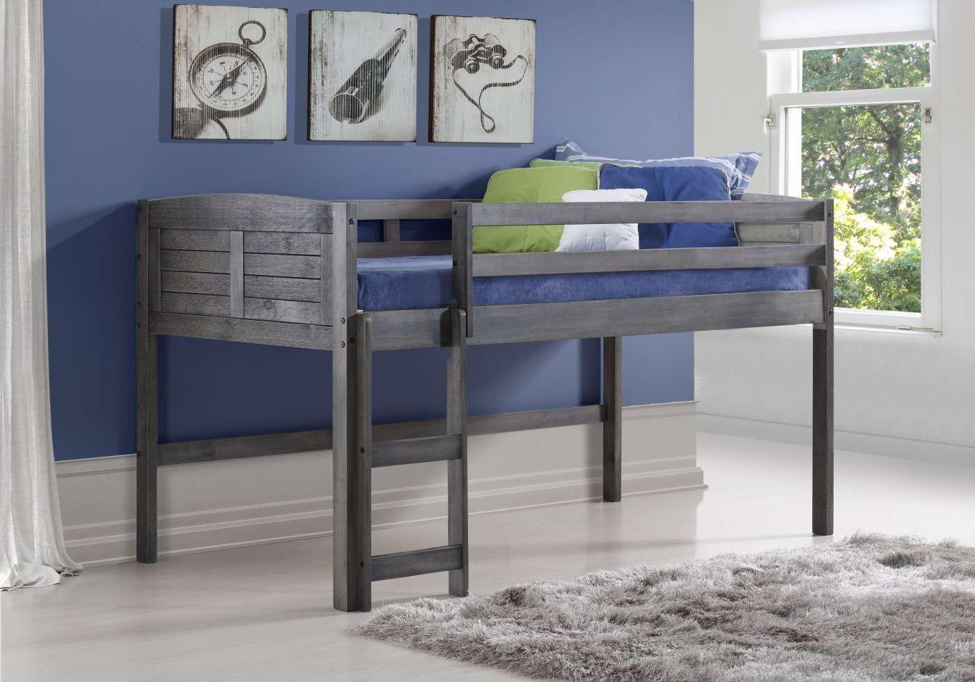Cozy High Sleeper Ladder Left