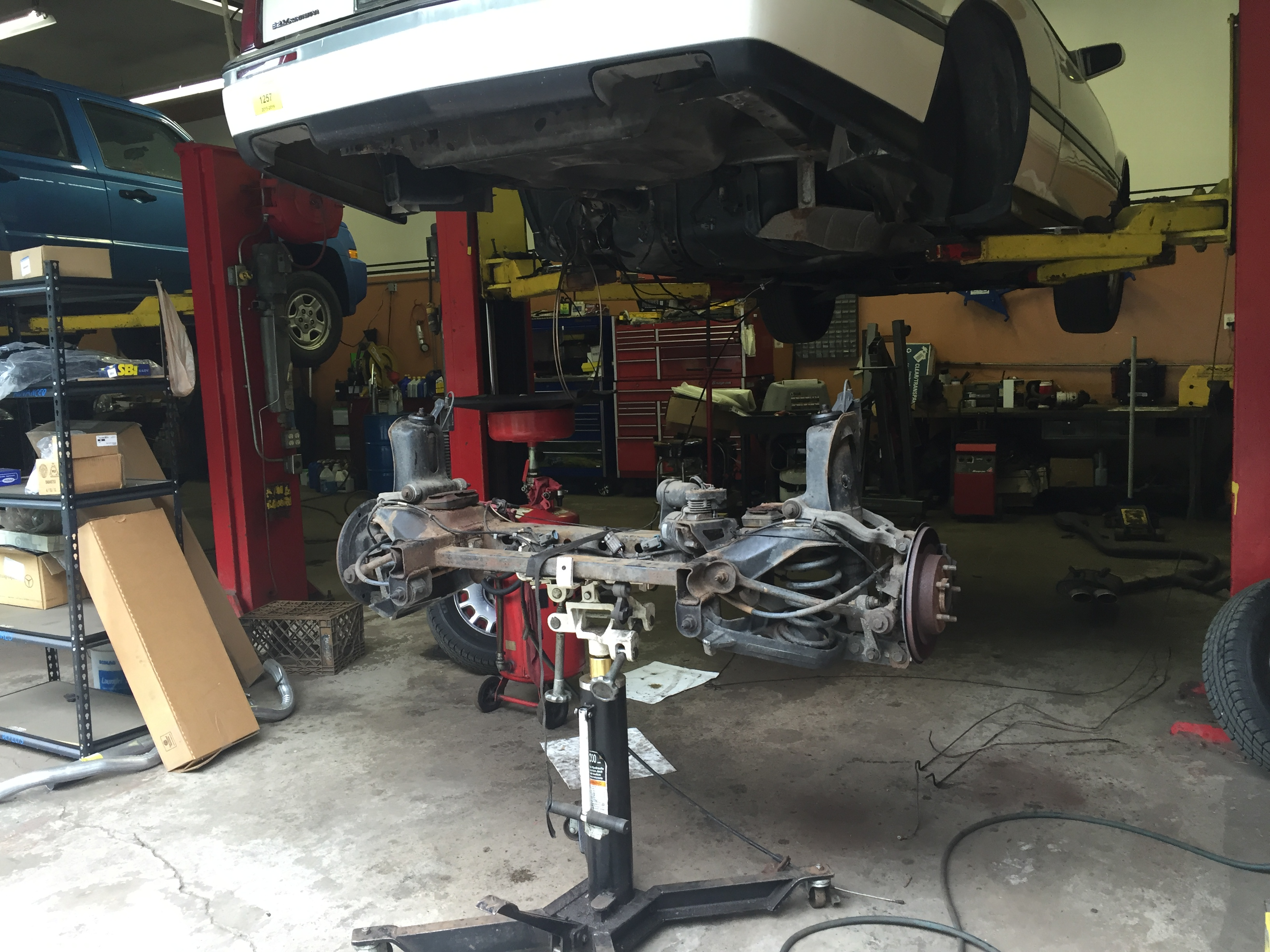 Rear Axle Replacement