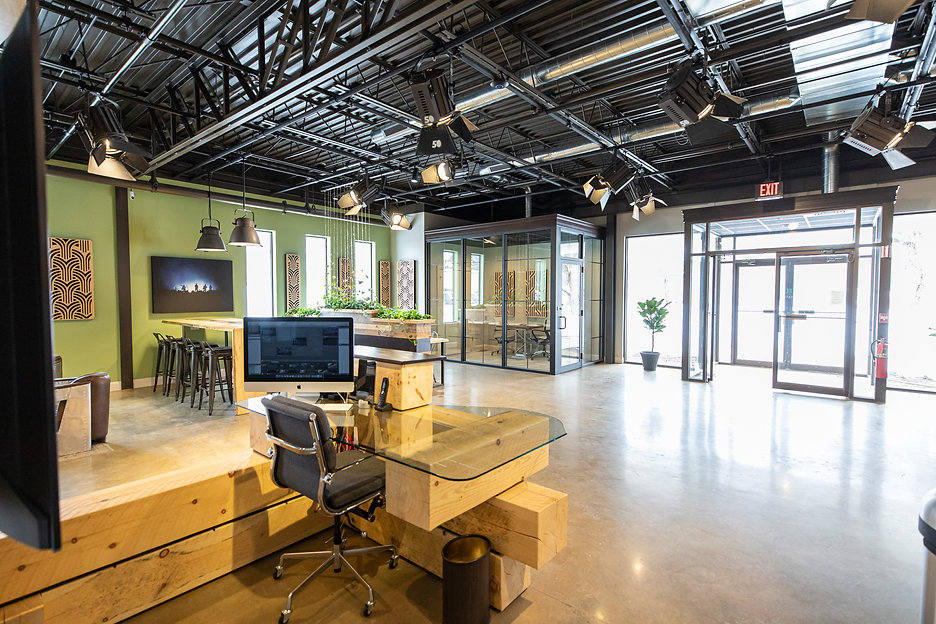 coworking, creative, shared space, community, lobby, office