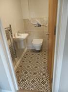 Beautiful floor tiles