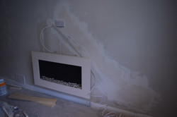 Hiding TV cables in the wall