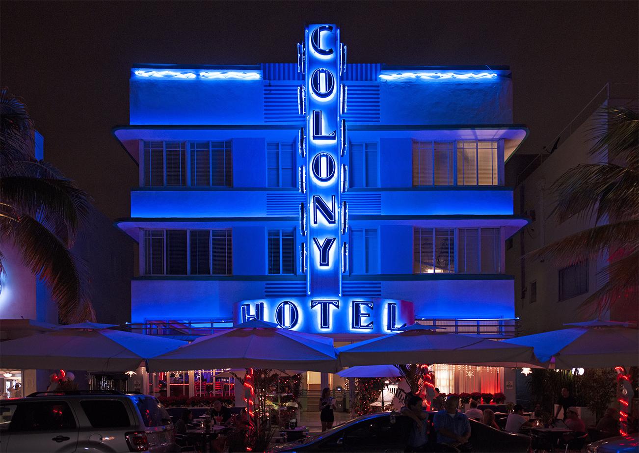 Colony Hotel, Miami