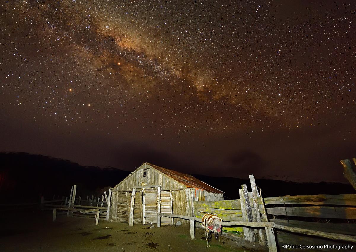 Milky Way, Patagonia Argentina