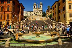 Piaza Spagna, Rome