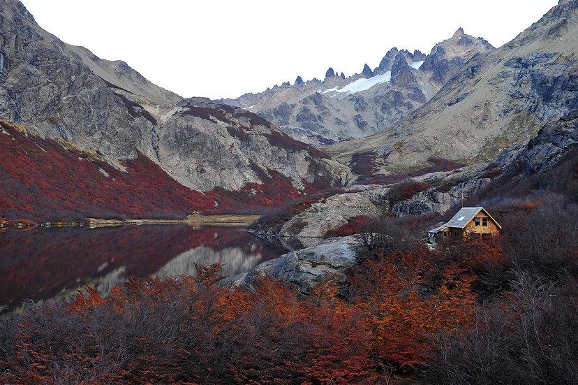 Yaco Lake refuge Patagonia