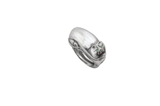 anillo gatosmeralda