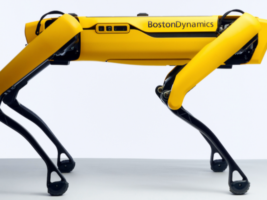 Application of a Variable Stiffness Actuator: Passively Compliant Robot Leg