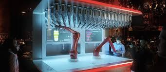 The Robotic bartender project idea