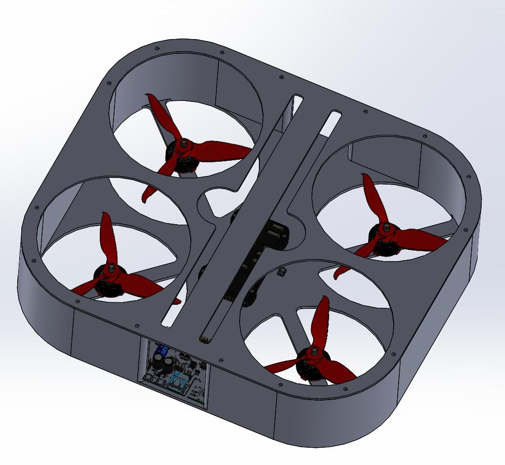 Autonomous Gesture-Controlled Safe Drone Drone