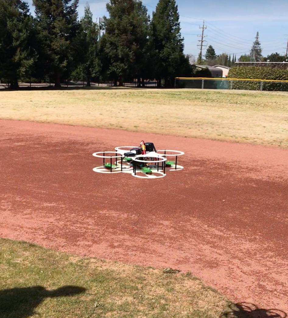 Autonomous Gesture-Controlled Safe Drone Drone Prototype
