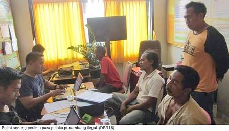 Kasus Penambangan Liar, Polres Gianyar Tetapkan Pemilik Lahan Sebagai Tersangka