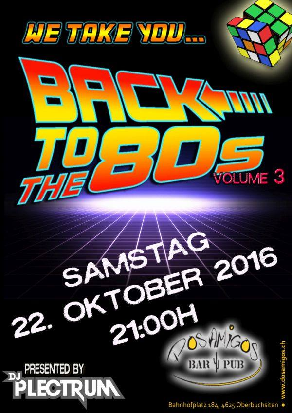 BACK TO THE 80S VOL.3