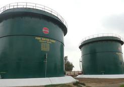 Site fabricated storage tanks
