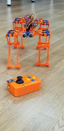Gorilla Bot and remote
