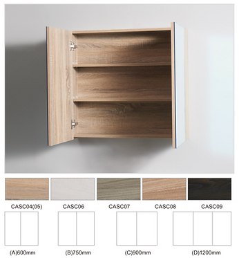 Timber shaving cabinet 750x700x150mm