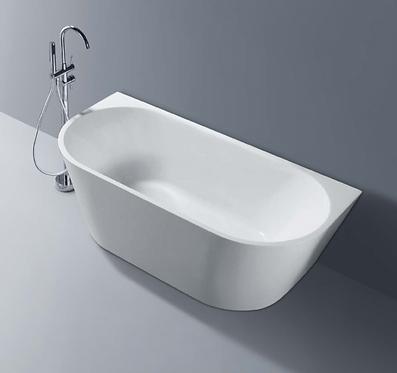 HANNAH back to wall bath 1300/1500/1700mm